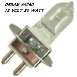 12V 30W PG22 64260 Mikroskop Ampulü