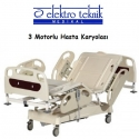 Hasta Karyolası 3 Motorlu