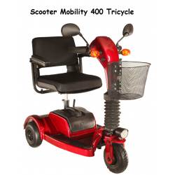 3 Teker Akülü Scooter