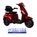 Elektrikli Scooter 3 Teker Yaşlı ve Engelli Aracı