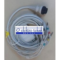 Cardioline Delta 1 Plus Ekg Kablosu