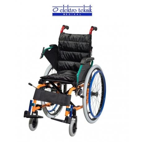 Çocuk Tekerlekli Sandalye Alüminyum