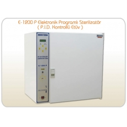 E-1200 P Elektronik Programlı Sterilizatör