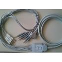 Plusmed Marka EKG Cihazı Kablosu