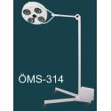 4 Reflektörlü Mobil Seyyar Ameliyat Lambası