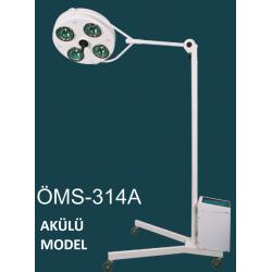 314A 4 Reflektörlü Digital Akü Sistemli Seyyar Lamba