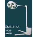 4 Reflektörlü Digital Akü Sistemli Seyyar Lamba